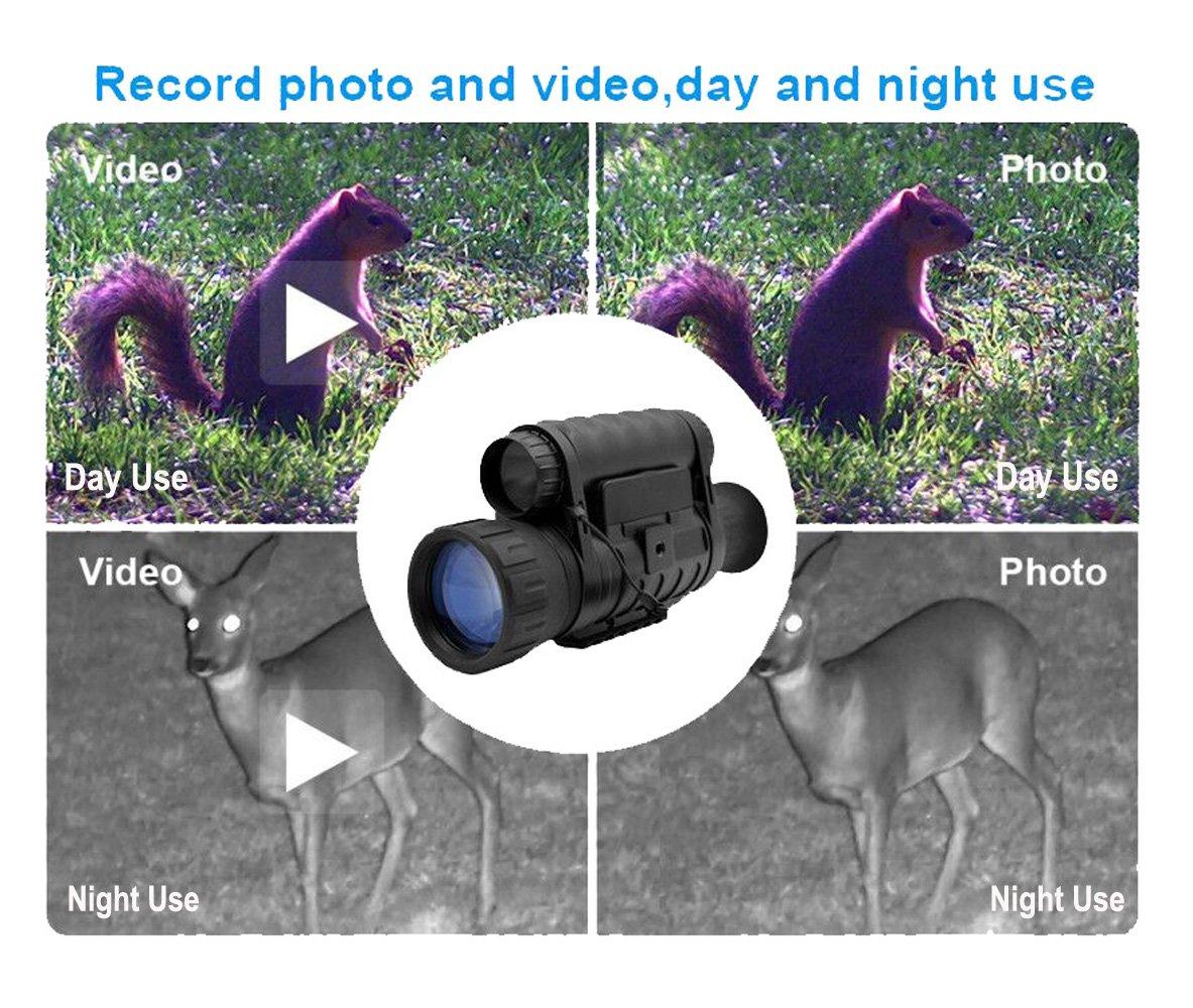 Bestguarder Night Vision Monocular-3