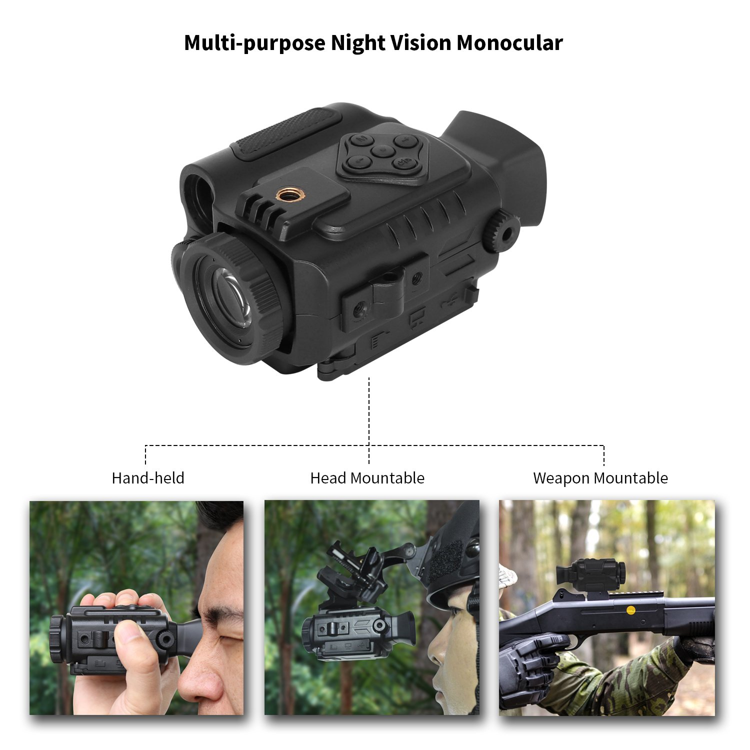 best night vision scope for coyote hunting