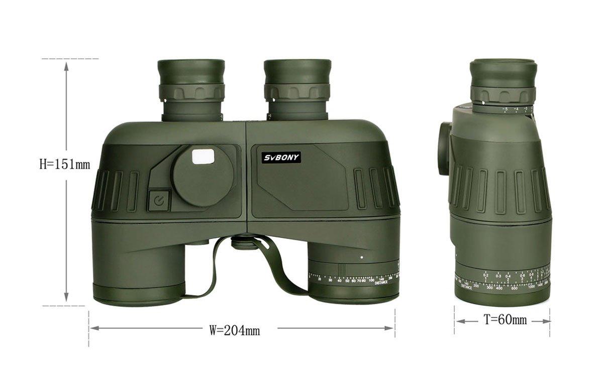 military binoculars with rangefinder pic-5