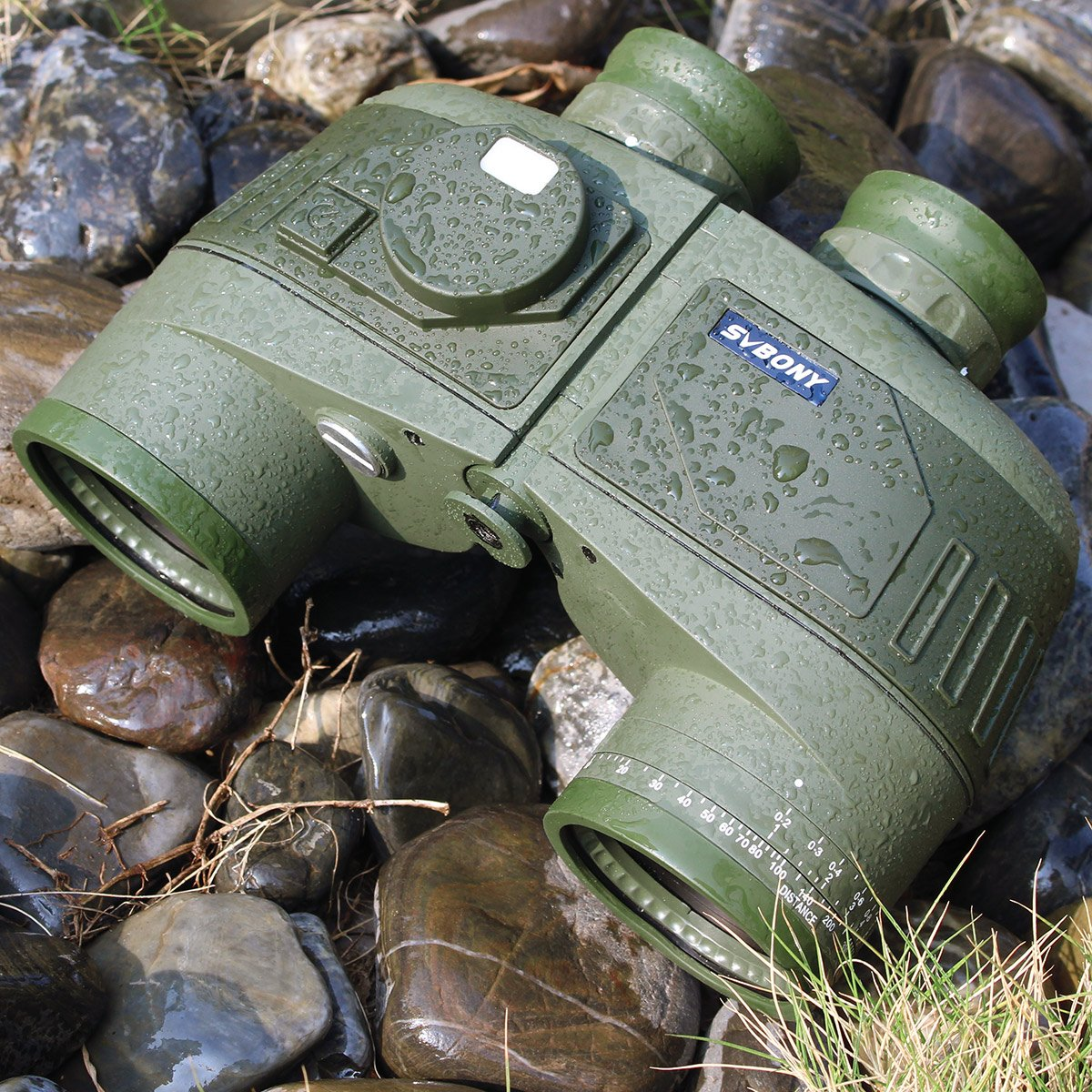 military binoculars with rangefinder pic-1