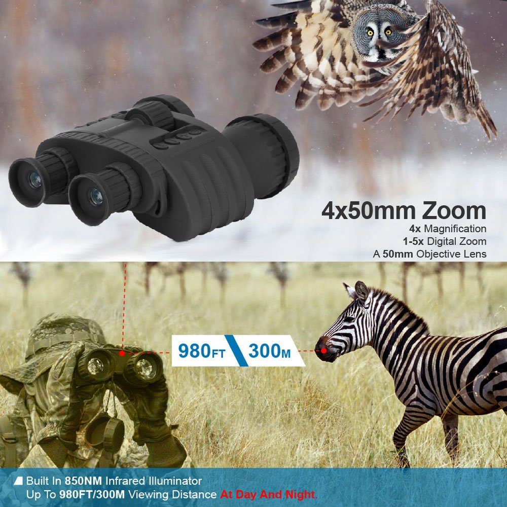 Bestguarder WG-80 Best Night Vision Binoculars pic-2