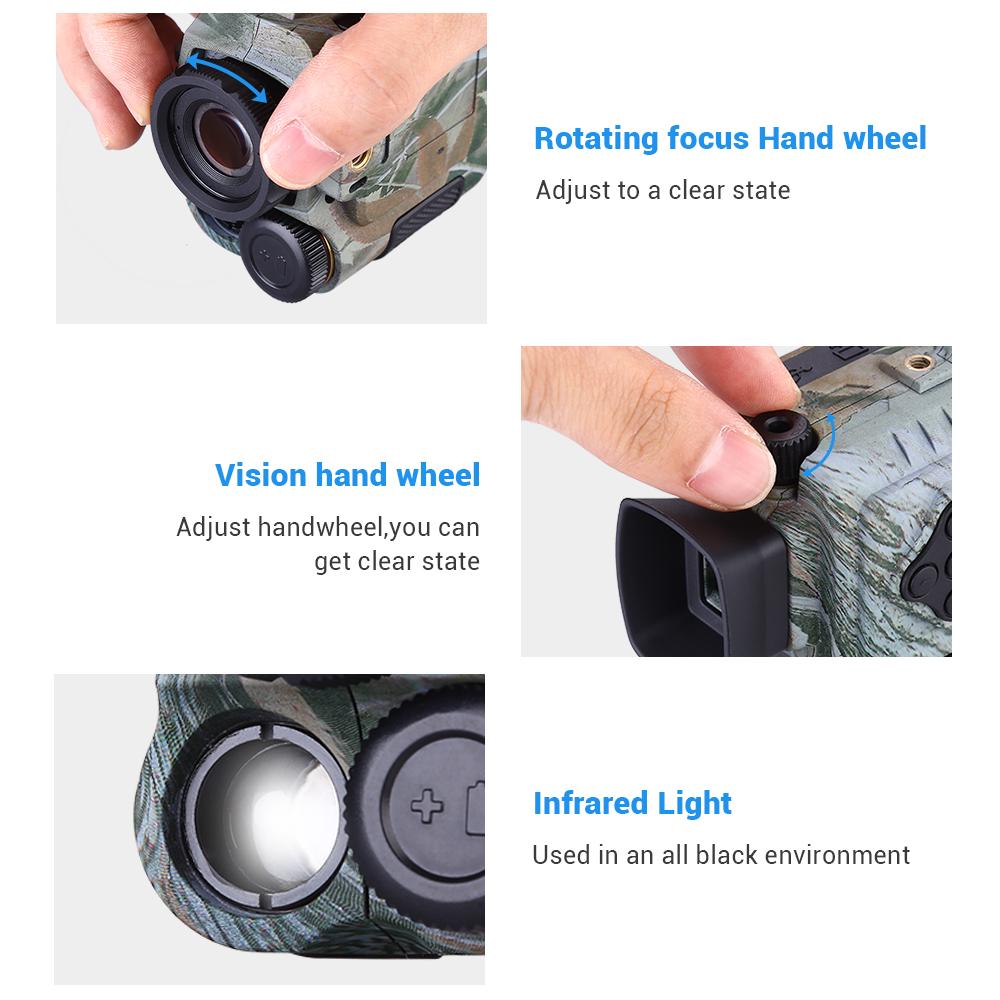 night vision action camera pic-5