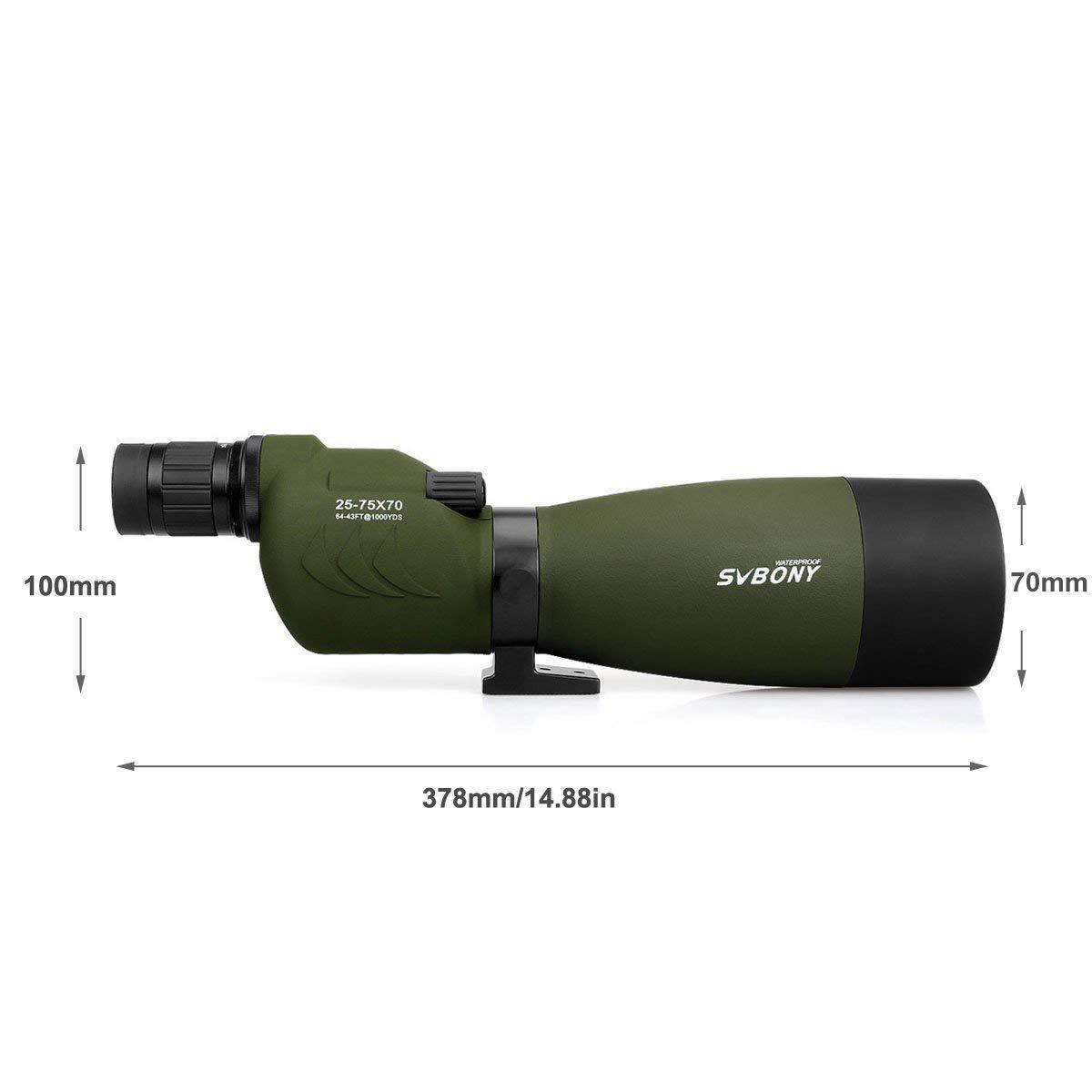 SVBONY SV17 Best Spotting Scope for Birding Outdoor Telescope pic-3