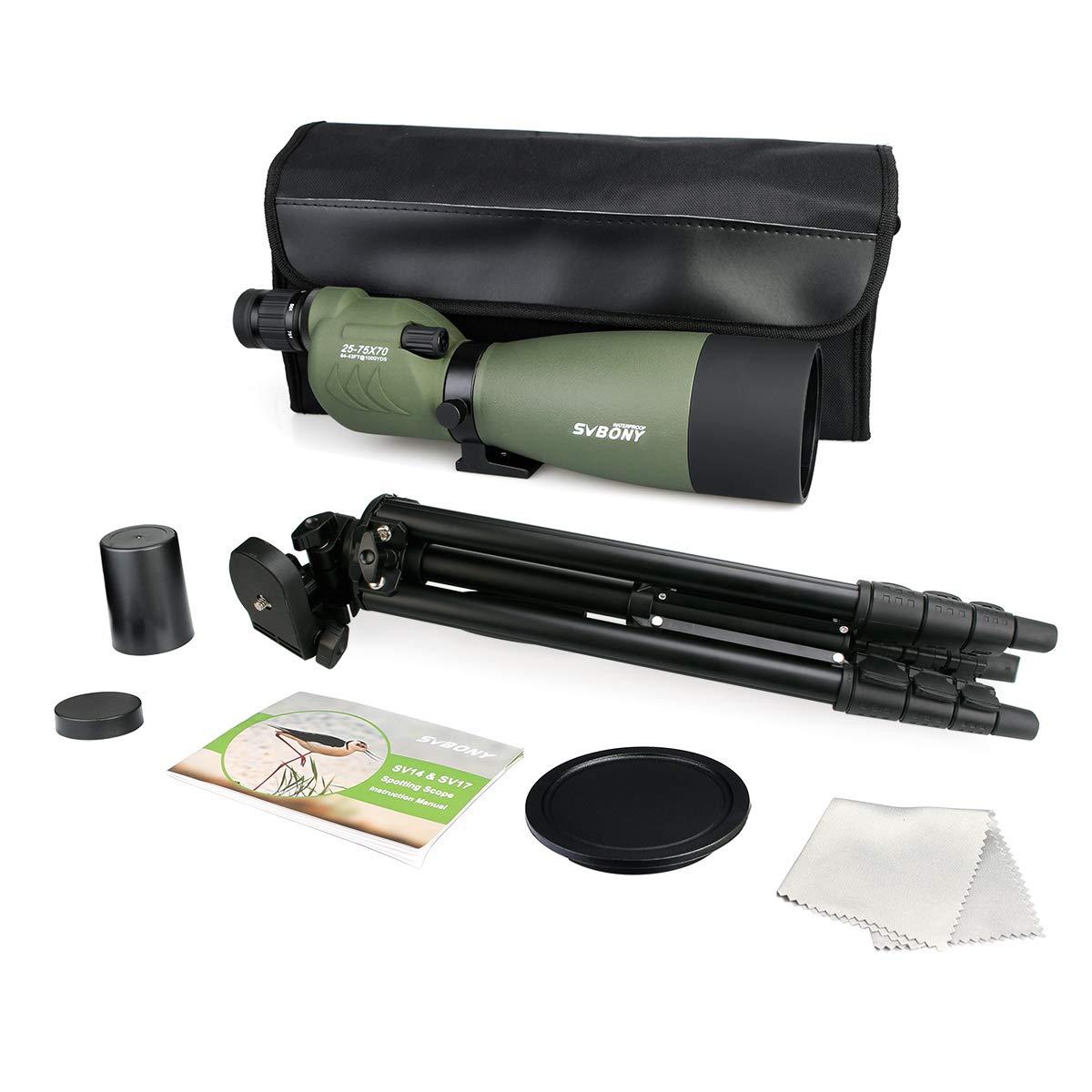 SVBONY SV17 Spotting Scope for Target Shooting Straight scope pic-1