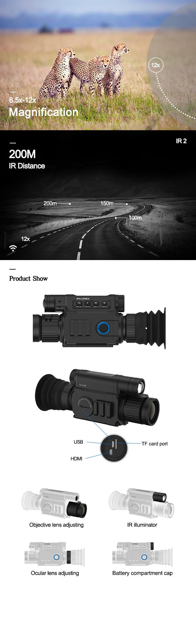Night Vision IR Monocular details pic
