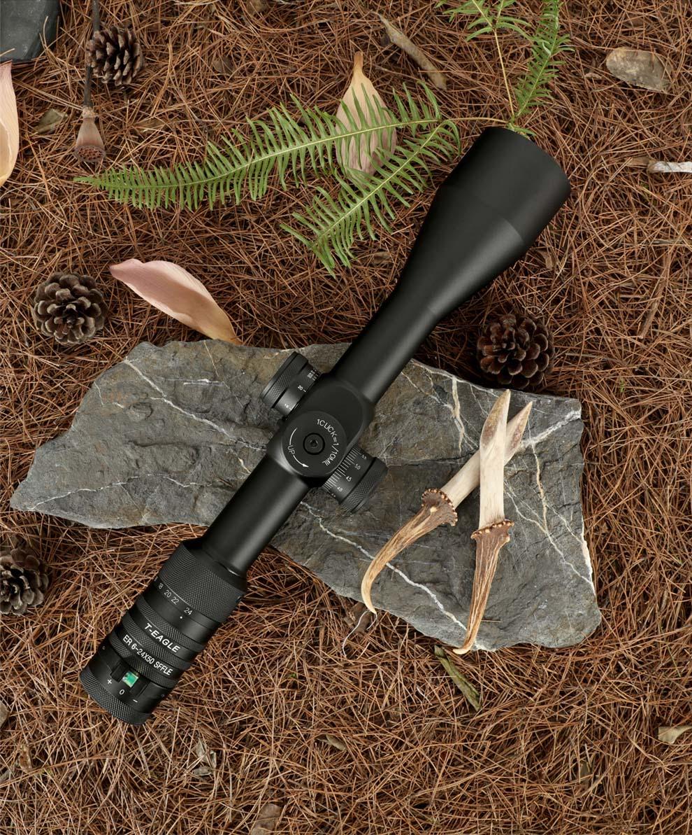 T-EAGLE ER 6-24X50 SFFLE Tactical Rifle Scopes pic-4
