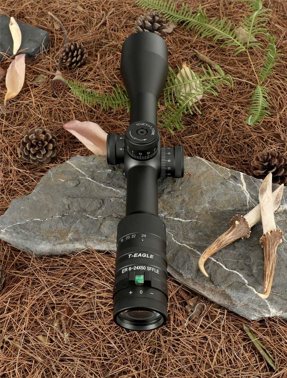 T-EAGLE ER 6-24X50 SFFLE Tactical Rifle Scopes pic-2