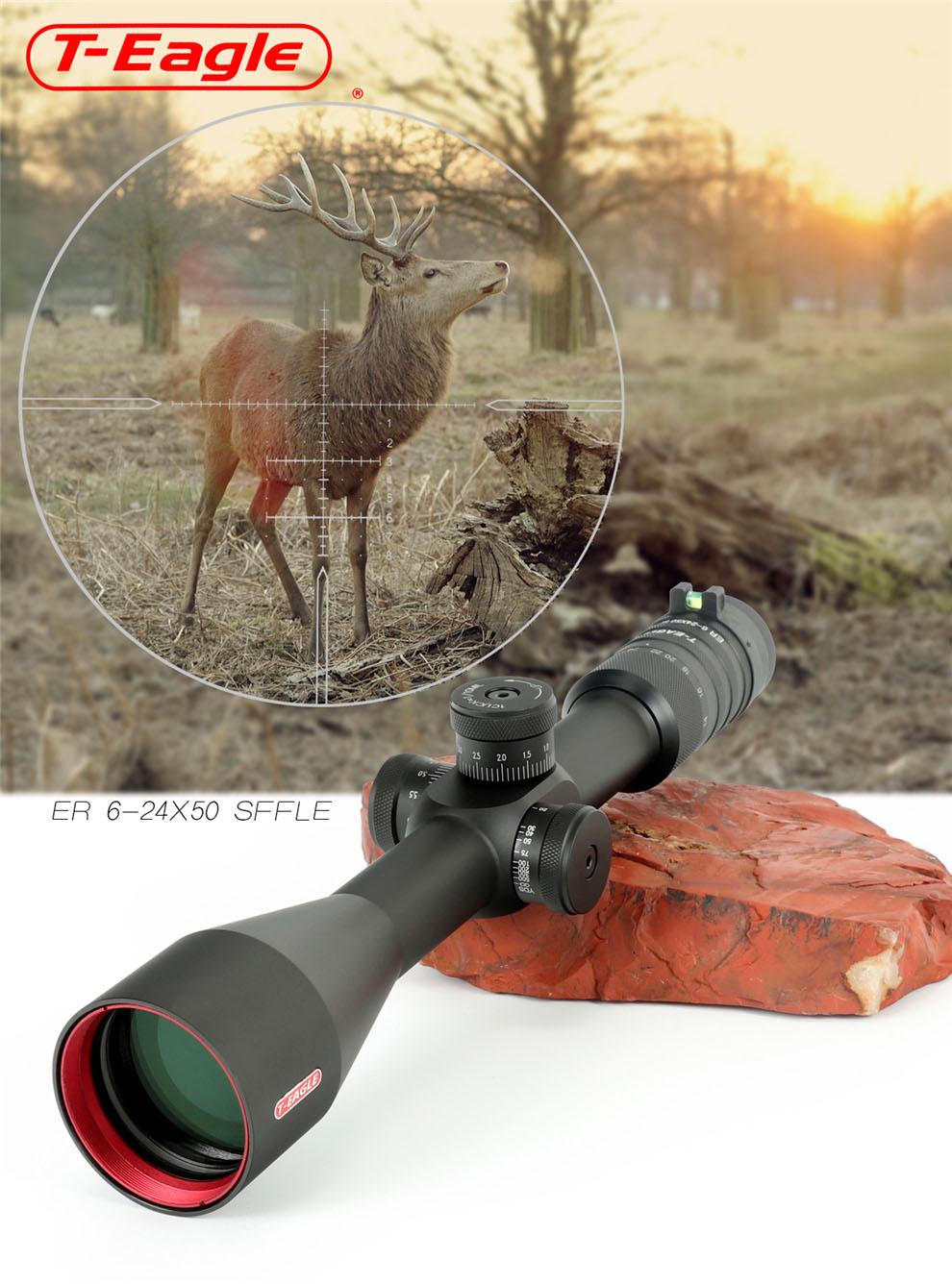 T-EAGLE ER 6-24X50 SFFLE Tactical Rifle Scopes pic-5