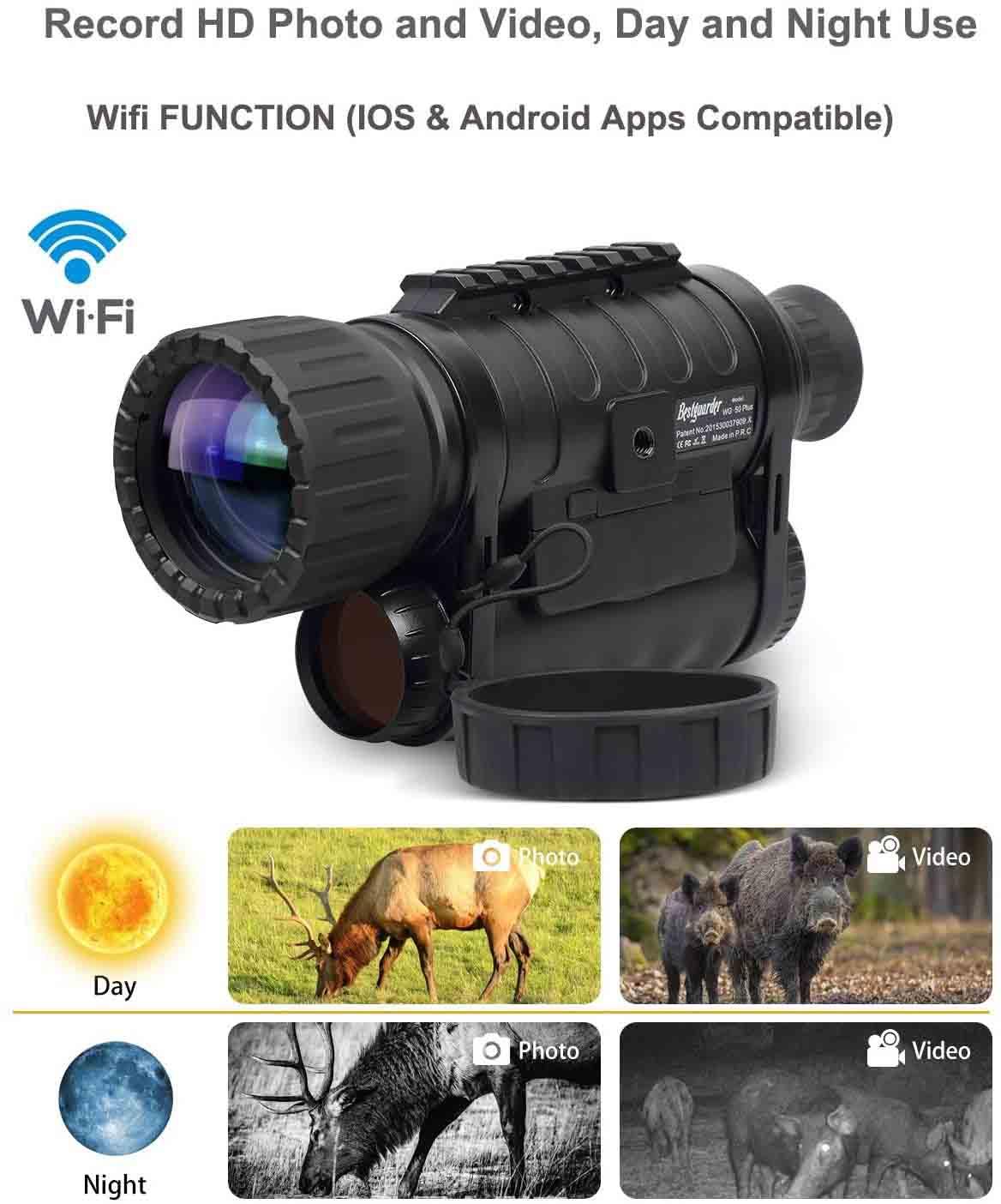 bestguarder WG-50 PLUS night vision pic