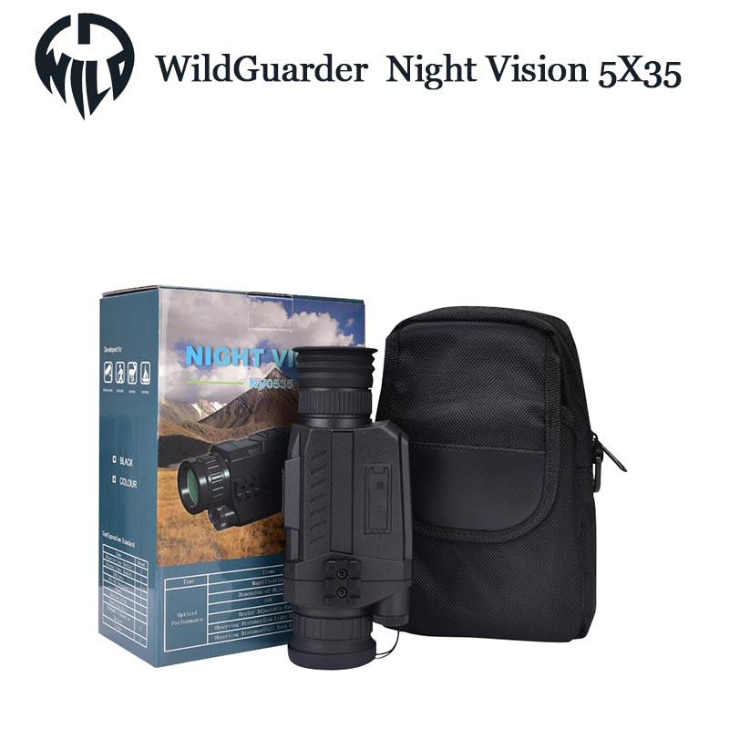 best digital night vision Hunting Scope-4